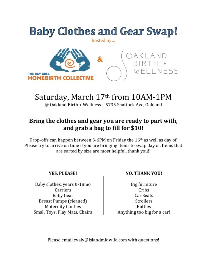 Baby Clothes and Gear Swap Flier jpeg